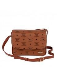 HCL Logo Handtasche mit Überschlag