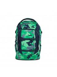 Satch Pack Schulrucksack Green Camou