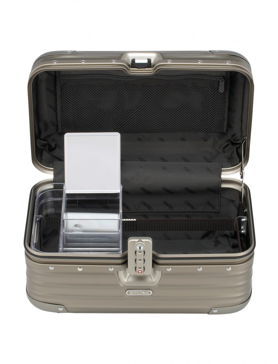 rimowa topas titanium beauty case rimowa marken. Black Bedroom Furniture Sets. Home Design Ideas