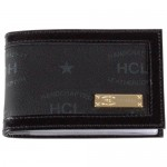 HCL Logo Kleinlederwaren Kreditkartenetui