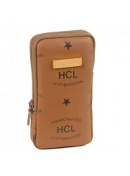 HCL Logo Taschentuch Etui in Natur
